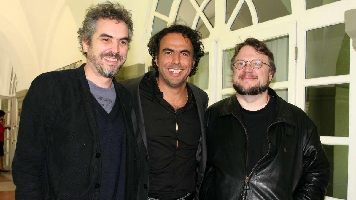 Guillermo del Toro, Alfonso Cuarón y Alejandro González Iñárritu ejercieron presión para  congelar el intento de Morena sobre el Fideicomiso de Fidecine. FOTO: CUARTOSCURO