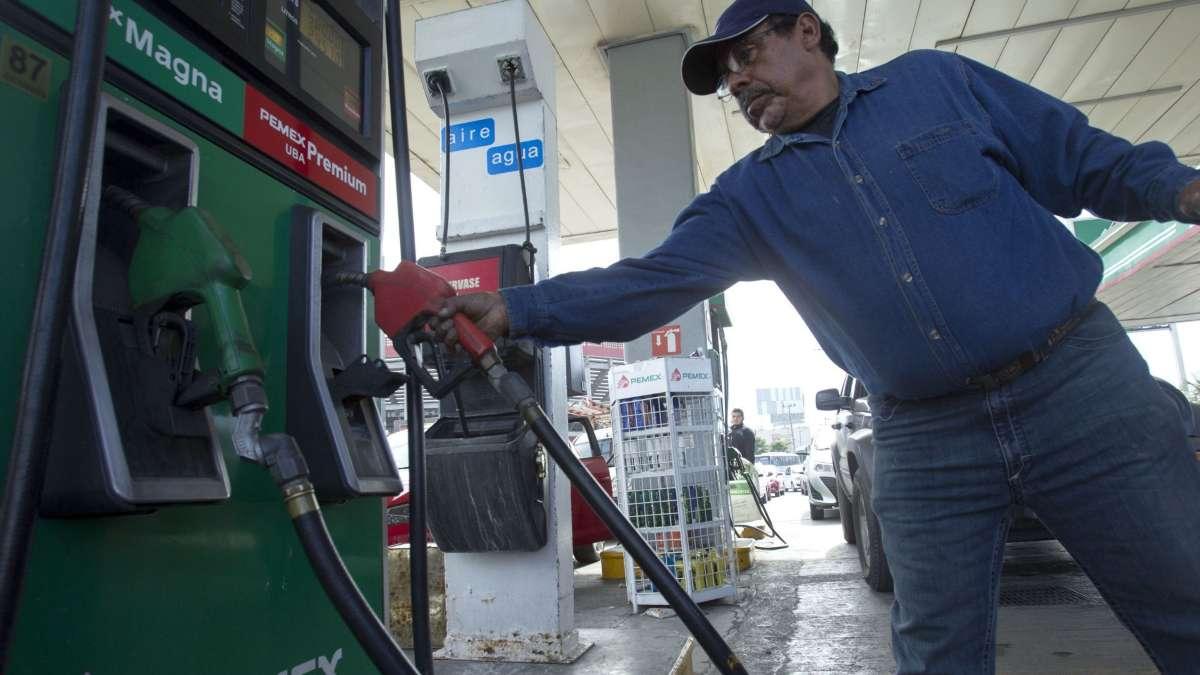 Precio de la gasolina en sabado Foto: Cuartoscuro