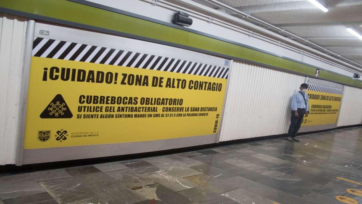 El metro de la CDMX ha lanzado un protocolo para evitar contagios FOTO: CUARTOSCURO