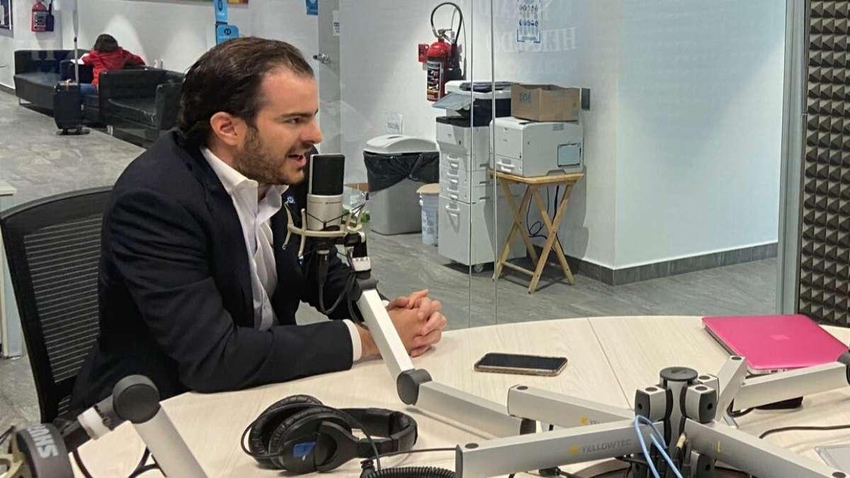 Director de El Heraldo Radio, Adrian Laris FOTO: ESPECIAL