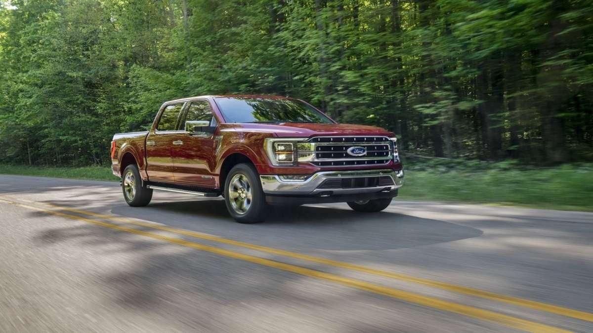 Esta es la camioneta mas vendida en Estados Unidos FOTO: FORD