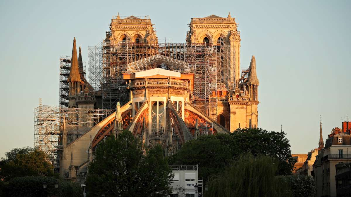 Notre Dame es una catedral de culto católico, sede de la arquidiócesis de París, sufrió un terrible incendio el 15 de abril de 2019. Foto: AFP