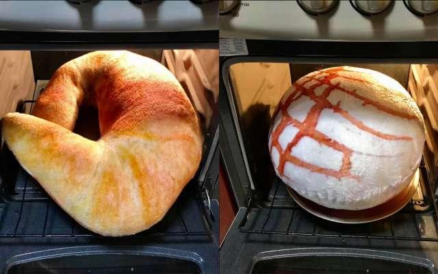 almohadas de pan