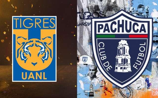 Tigres VS Pachuca. FOTOS: @ClubPachucaTuzos y @tigresoficial