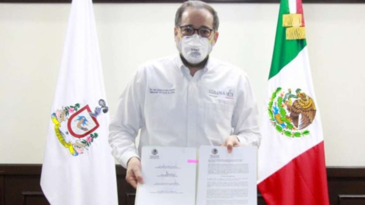 El mandatario informó esta noche que el compromiso del gobierno estatal es con la salud. Foto: @nachoperaltacol
