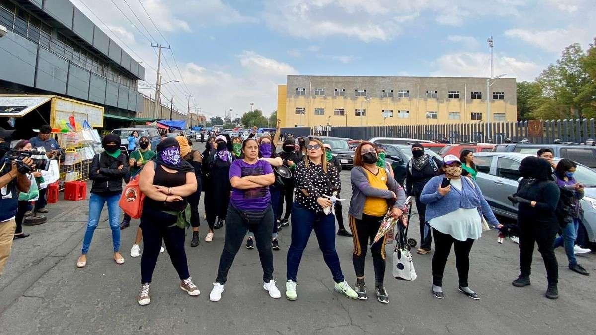 protestas mujeres violador menor de edad reclusorio varonil oriente