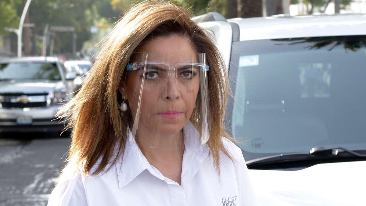 Olivia Salomón, actual titular de la Secretaría de Economía en Puebla. Foto: Agencia Enfoque