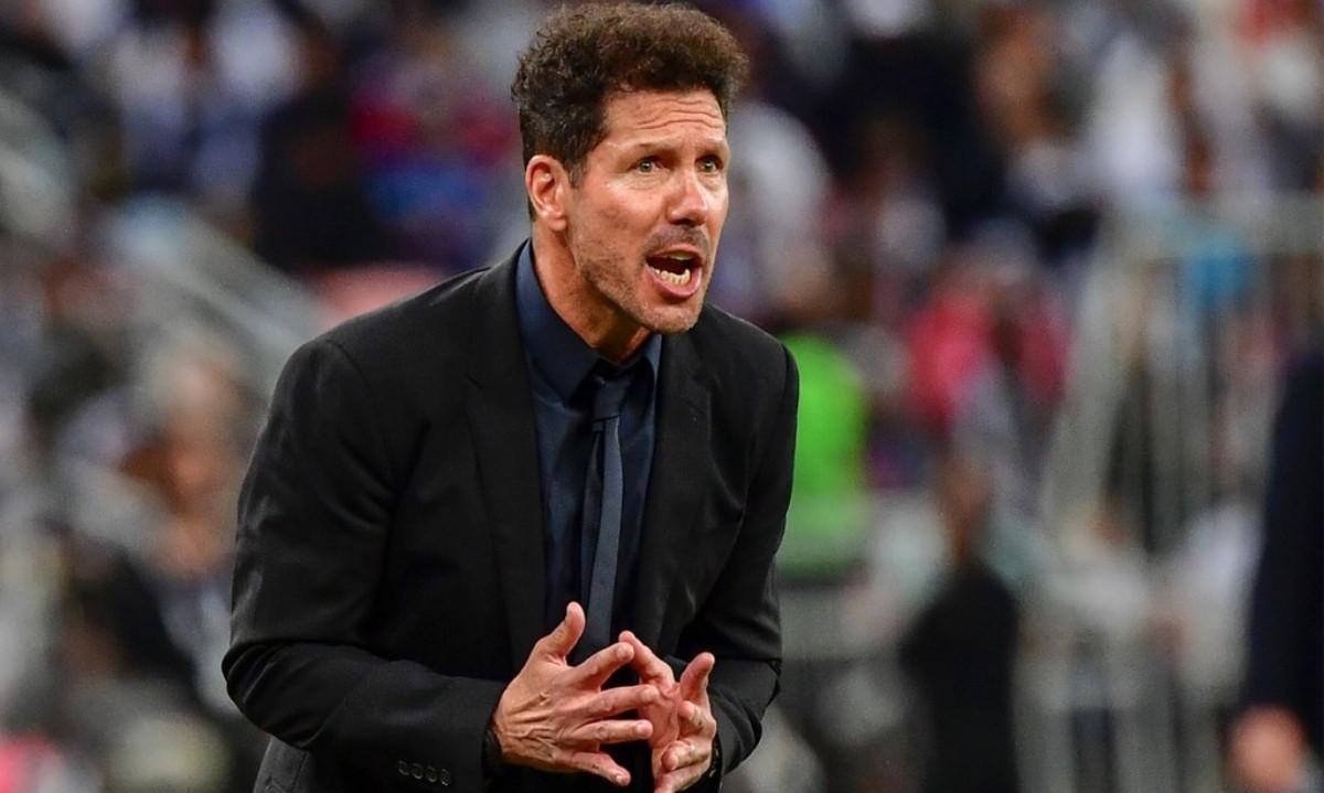 Cholo Simeone da positivo a COVID-19 y se perderá el inicio de la temporada con Atlético de Madrid