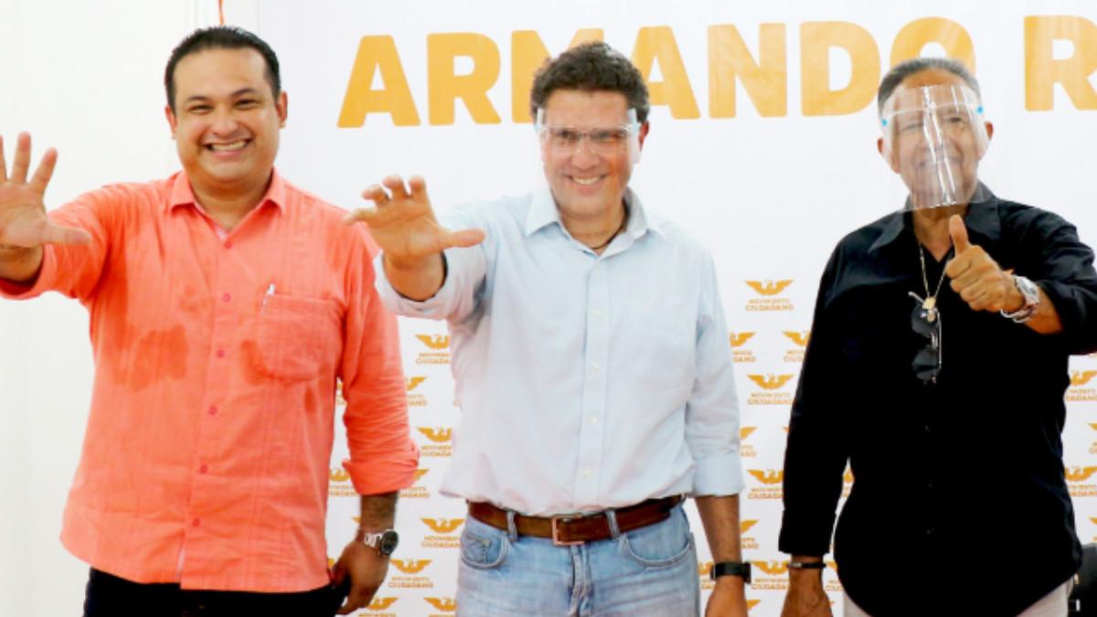 Ríos Piter se afilia a Movimiento Ciudadano