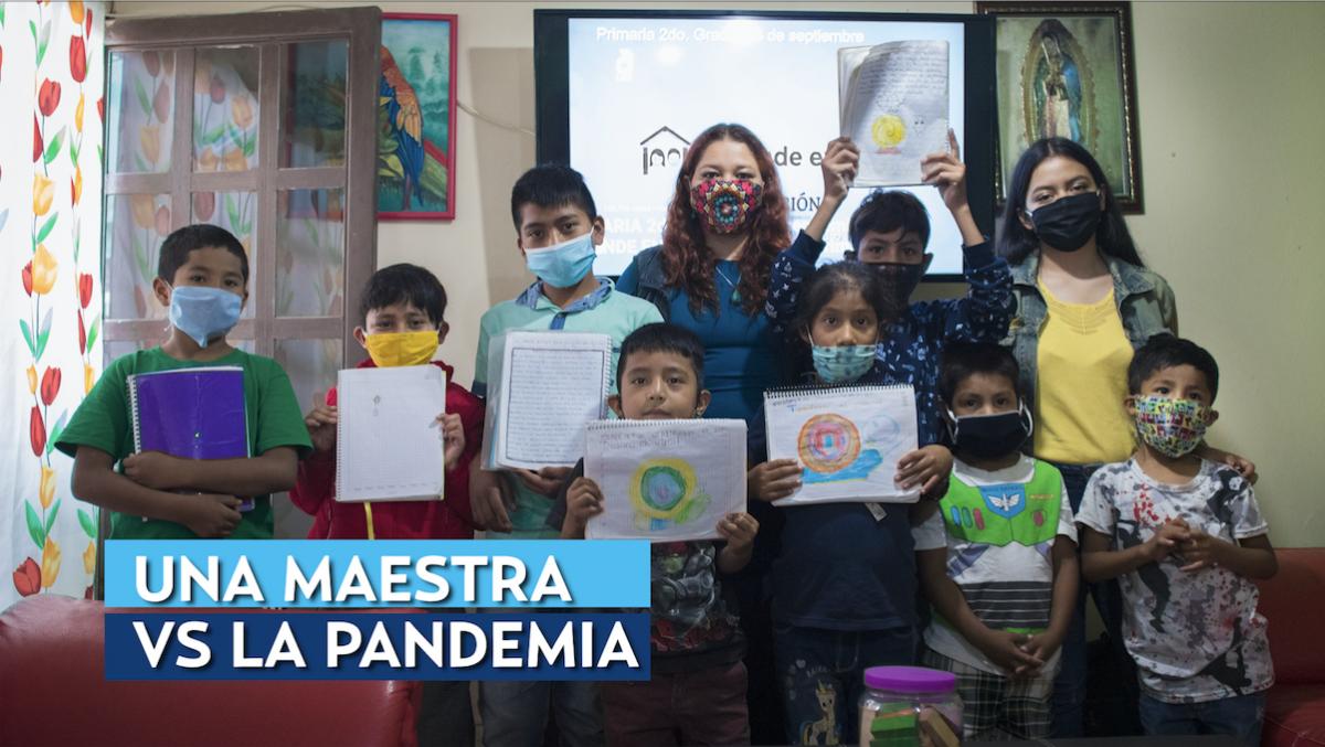 Una maestra vs la pandemia