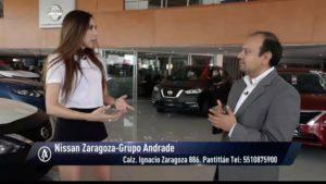 Ana Narro en la Agencia de autos Zaragoza