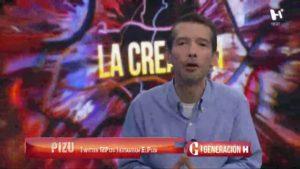 """Emilio saldaña """"El Pizu"""" y estudiantes de la UNAM en el foro de Generación H"""