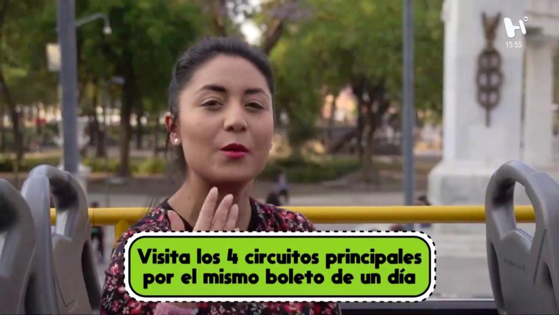3c399e07 Una manera divertida de conocer la Ciudad de México en Turibus, reportaje  El Heraldo TV
