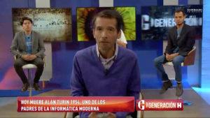 """Emilio Saldaña """"El Pizu"""" en el foro con estudiantes"""
