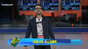 Carlos Allende en el for de Palitos y bolitas