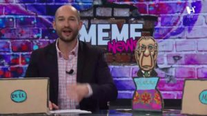 Enrique Alcocer y Juan Alarcón en el foro de Meme News