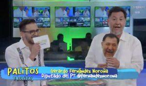 Gerardo Fernández Noroña en entrevista con Bolitas y Palitos