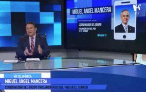 Miguel Ángel Mancera en entrevista con Jesús Martín Mendoza.