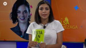 Renata Roa en estudio de Heraldo Magazine