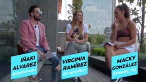 Iñaki Álvarez, Virginia Ramírez y Macky González en el foro de Meta
