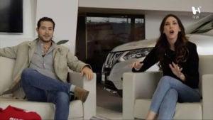 Ana Narro y Guty en Autos Andrade