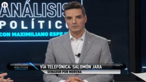 Maximiliano Espejel en estudio de Análisis Político