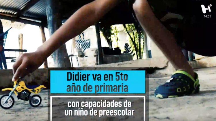Didier tiene 11 años, un tumor y desea ser un niño normal; reportaje del Heraldo TV