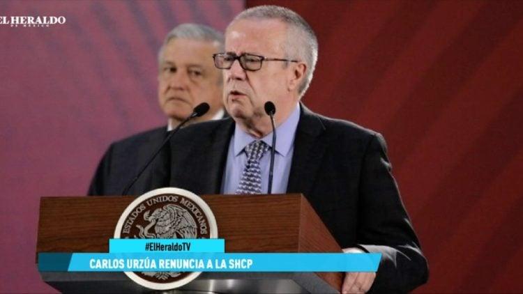 Renuncia de Carlos Urzúa