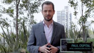 Paul Ospital en terraza de El Heraldo TV