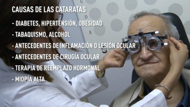 Cataratas oculares, un riesgo latente de ceguera para mayores de 40 años