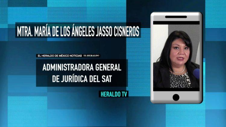 """No viviremos un """"Terrorismo Fiscal"""": Mtra. María de los Ángeles Jasso"""