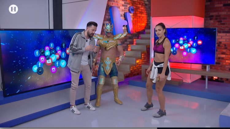 Golden Magic enseña a los conductores de Meta como ser luchadores de la Triple A