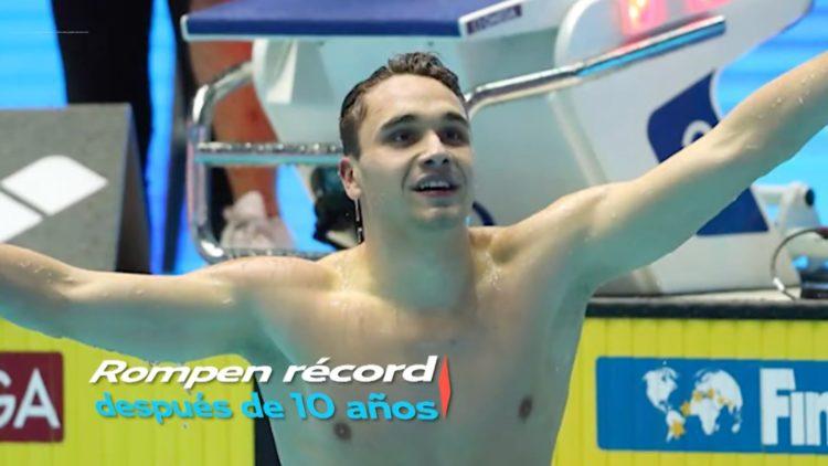 Joven de 19 años supera el récord de Michael Phelps