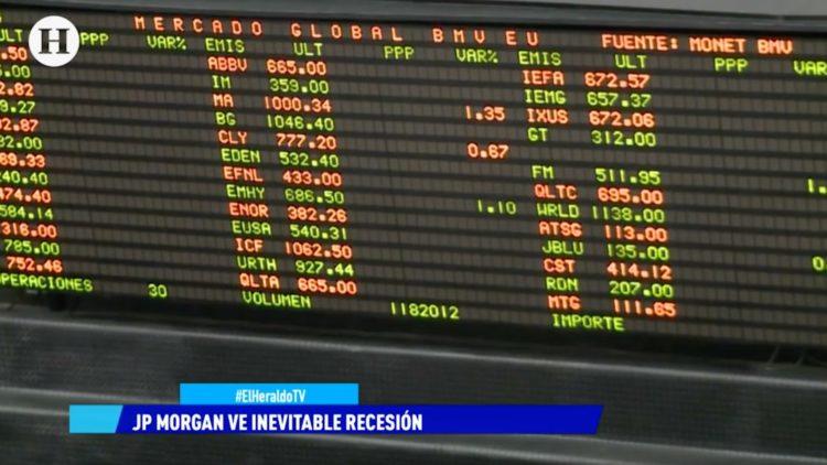 Banco de inversión JP Morgan señaló que la recesión técnica en México es inevitable: Mario Maldonado