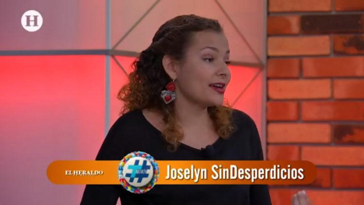 """Joselyn """"Sin desperdicios"""" en Trend"""