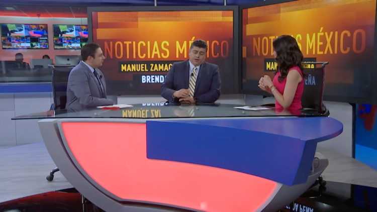 Julio Jiménez en Noticias México.
