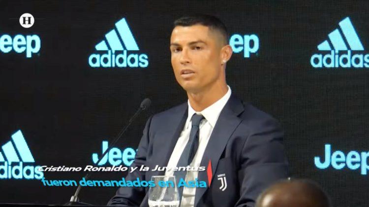 Demandan a Cristiano Ronaldo en Corea del Sur por estafa