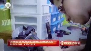 """Emilio Saldaña """"El Pizu"""", Generación H, oferta laboral, egresados, CV,"""