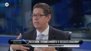 Juan Carlos Baker en estudio de Análisis Político con Maximiliano Espejel