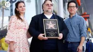 Guillermo del Toro en el paseo de la fama