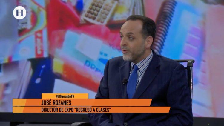 José Rozanes, director de Expo Regreso a Clases