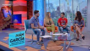 Iván García espera de la pronta recuperación de su pareja, Germán Sánchez para seguir participando juntos
