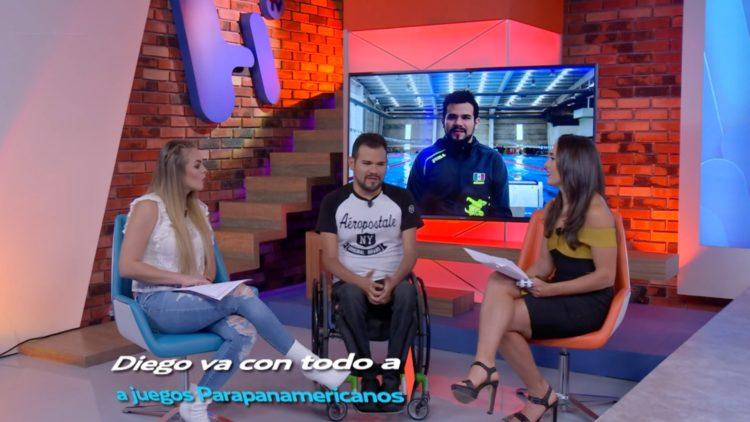 Diego López va por cinco oros y récord mundial en los Juegos Parapanamericanos