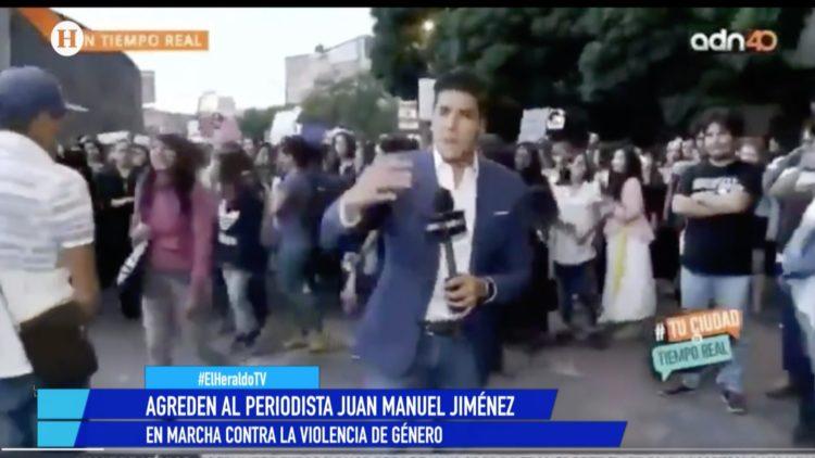 Juan Manuel Jiménez Marcha Violencia Noticias de la noche