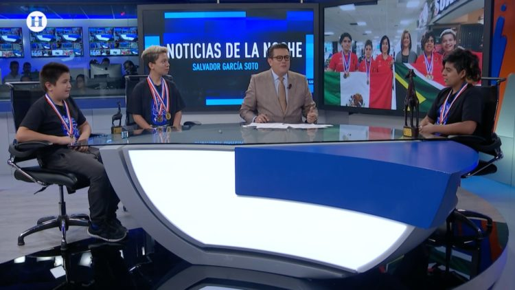 Niños matemáticas Guillermo del Toro Noticias de la noche