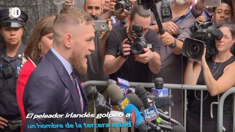 Conor McGregor agrede a hombre de la tercera edad