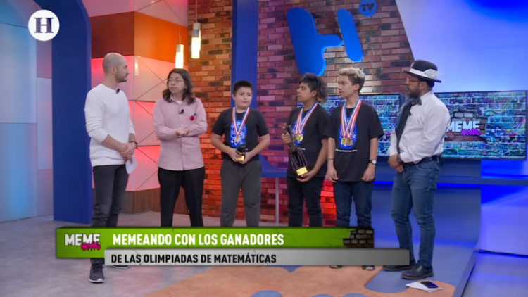 Ganadores Olimpiada de Matemáticas