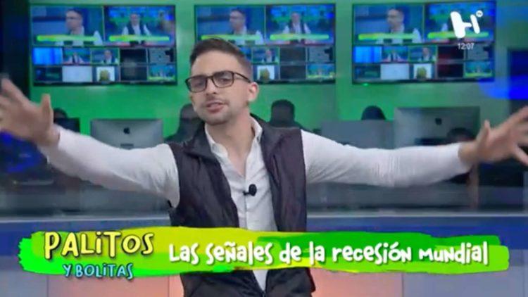 Carlos Allende en Palitos y Bolitas 19-08