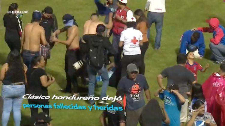 Pelea previo al Clásico de Honduras deja cuatro muertos