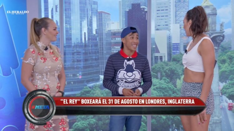 Julio César _Rey_ Martínez va por el título de peso mosca en Londres
